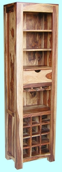 Gio Tall Wine Rack - The Furniture Store