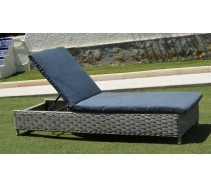 Marbella Sunlounger with Cushion