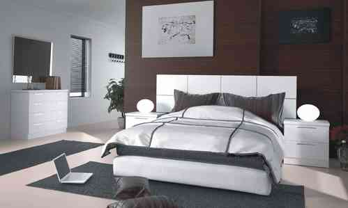 Grecia White Bedroom Collection