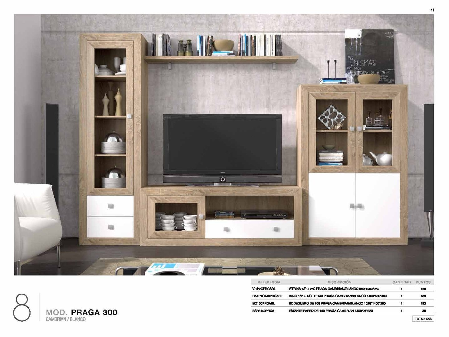 Praga Cambrian & White Collection (4 Pieces)