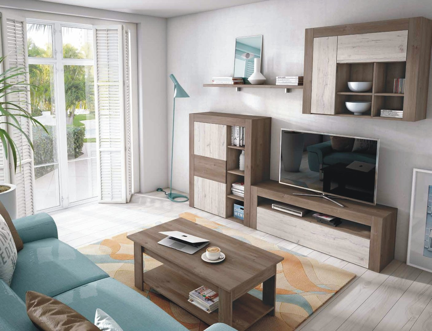 Nature Range Large TV Unit