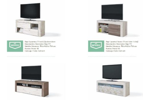 Nature Range Small TV Unit