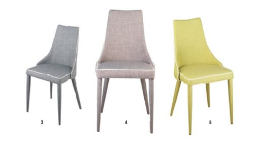 Ares Fabric Dining Chair
