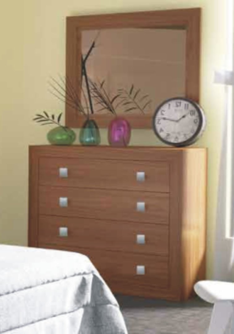 Suiza Chest of 4 Drawers Nogal