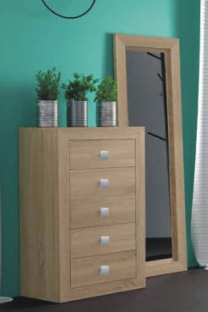 Suiza Chest of 5 Drawers