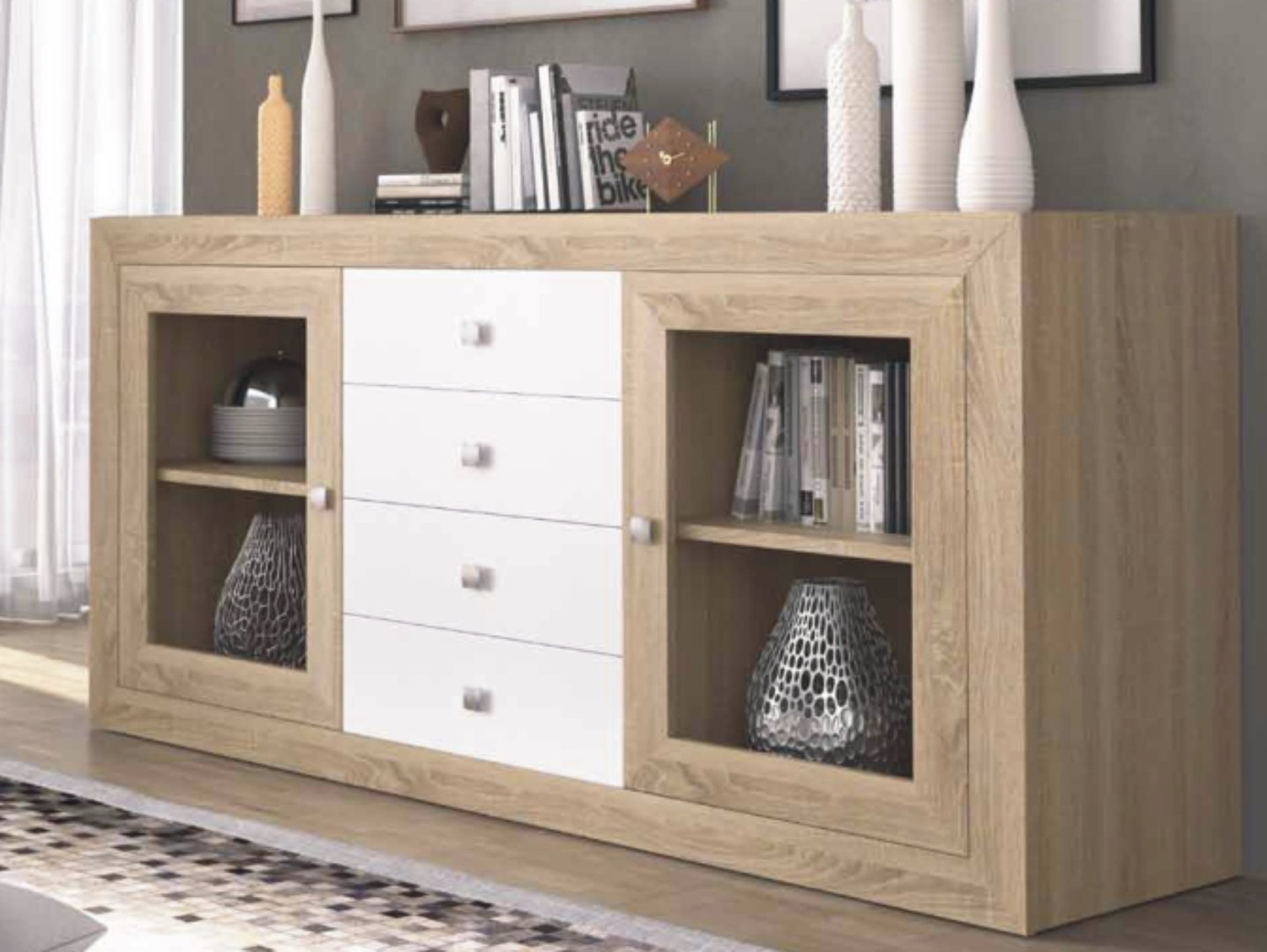 Praga Large Sideboard Cambrian