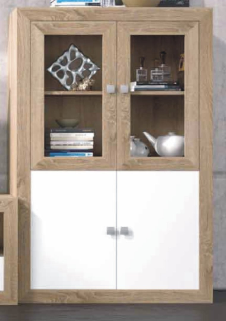Praga Large Drinks Cabinet Cambrian & White