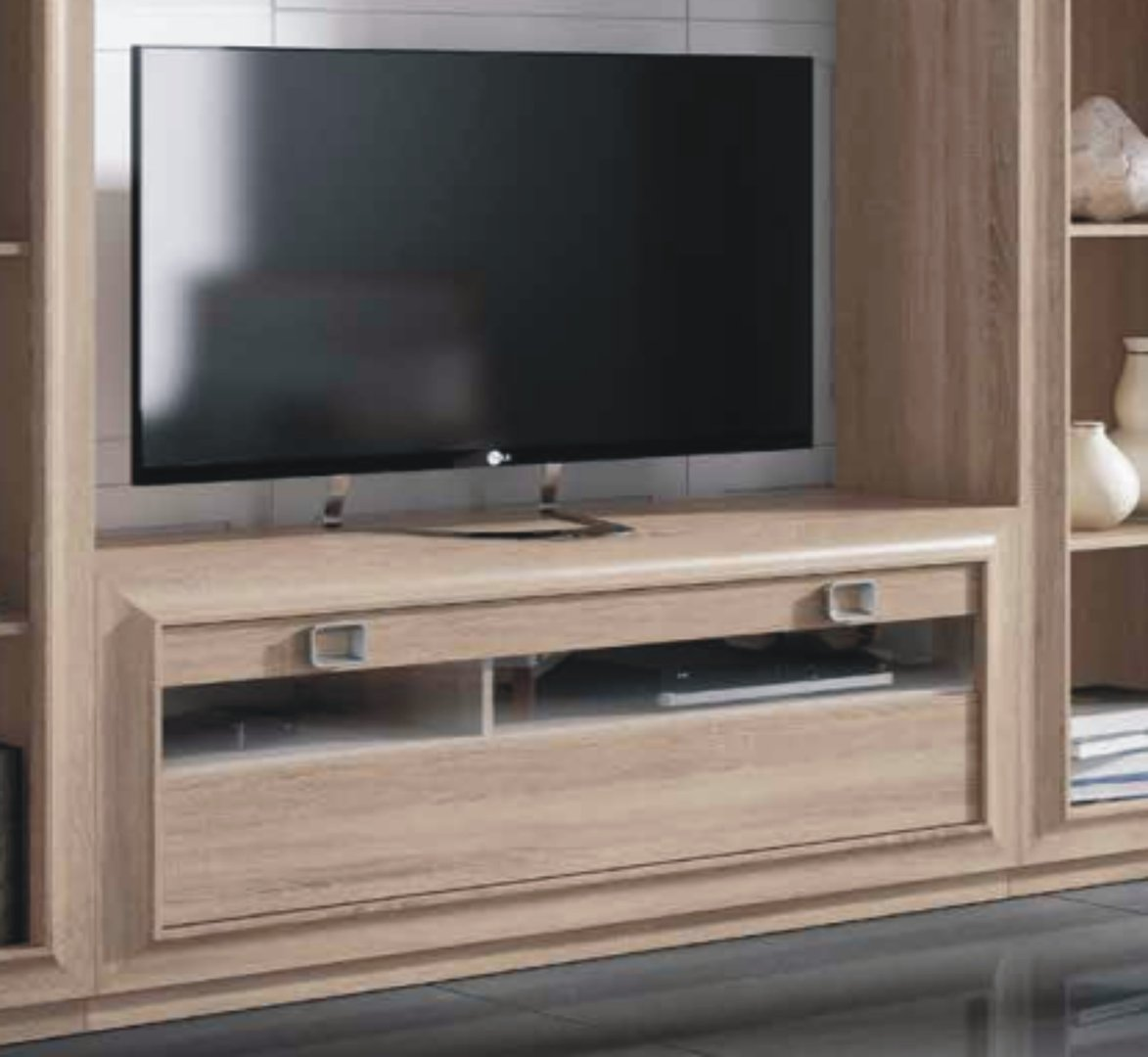 Mito 140cm Glazed TV Unit Cambrian